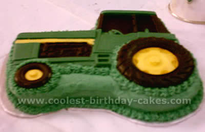 Marvelous Coolest Ever Farming Tractor Cakes And Decorating Tips Funny Birthday Cards Online Fluifree Goldxyz