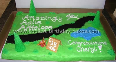 Groovy Coolest Camping Cake Ideas And Photos Birthday Cards Printable Opercafe Filternl