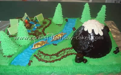 Coolest Camping Cake Ideas and Photos