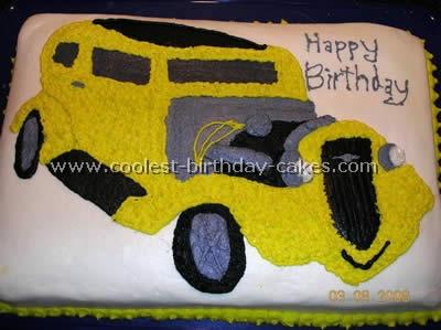 Car Birthday Cake