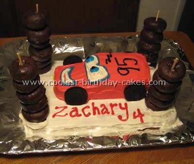 Amazing Cars Themed Birthday Cake Images Carsamat Com Personalised Birthday Cards Arneslily Jamesorg