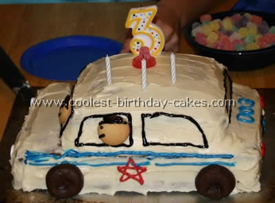 Coolest Police Car Cake Photos and Tips