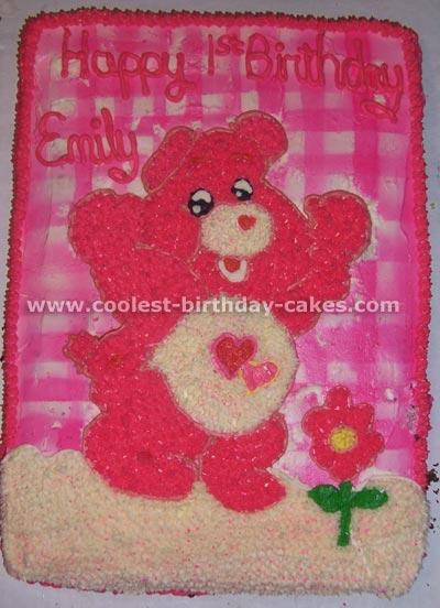 Care Bear Cake Photo