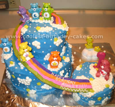 Pleasant Coolest Care Bear Cake Ideas And Photos Birthday Cards Printable Benkemecafe Filternl