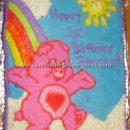 Coolest Care Bear Cakes - Ideas and Photos