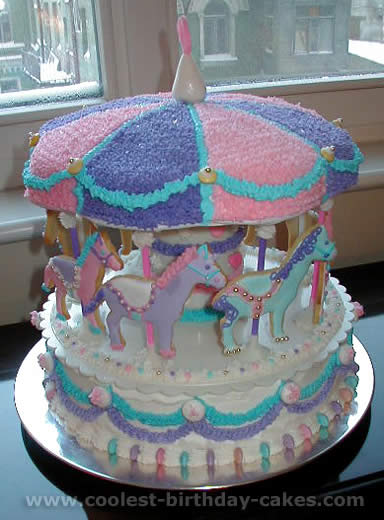 Coolest Carousel Cake Photos and Tips