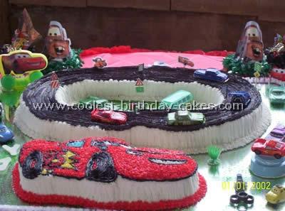 Disneys Cars Birthday Cake