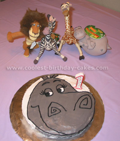 Coolest Cartoon Cake Ideas from the Movie Madagascar
