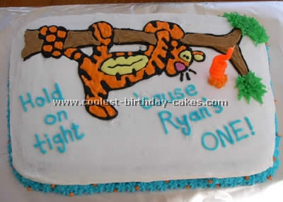 Coolest Tigger Cartoon Cake Photos and How-To Tips