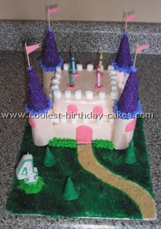 Cool Homemade Castle Birthday Cake Ideas