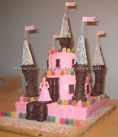 Peachy Coolest Castle Cake Ideas Funny Birthday Cards Online Alyptdamsfinfo