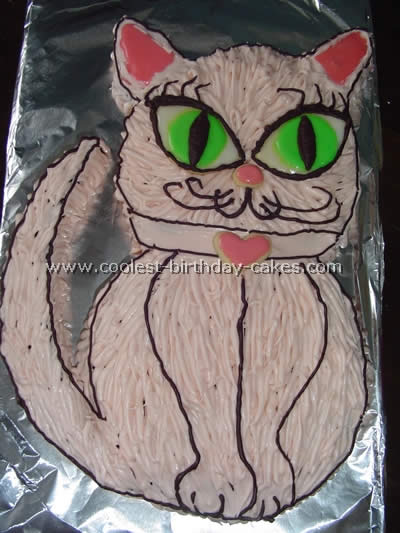 Pleasing 12 Coolest Cat Birthday Cake Ideas For Diy Cake Decorating Inspiration Personalised Birthday Cards Arneslily Jamesorg