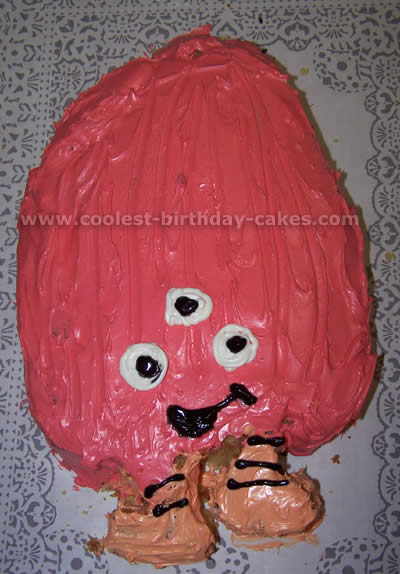 Coolest Chicken Little Picture Cakes on the Web's Largest Homemade Birthday Cake Gallery