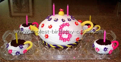 Teapot Childrens Birthday Cake Recipes My Six Year Old