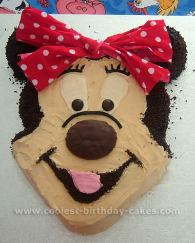 Brilliant Coolest Homemade Minnie Mouse Cakes Funny Birthday Cards Online Barepcheapnameinfo