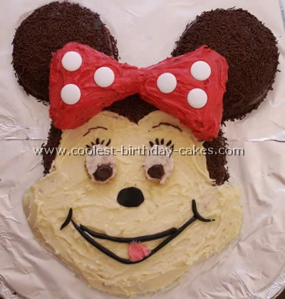 Minnie Mouse Childrens Birthday Cakes