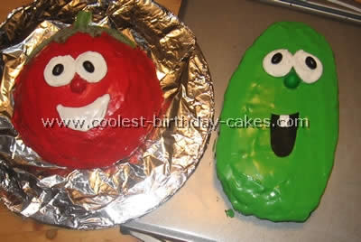 Coolest Veggie Tale Cakes and How-To Tips