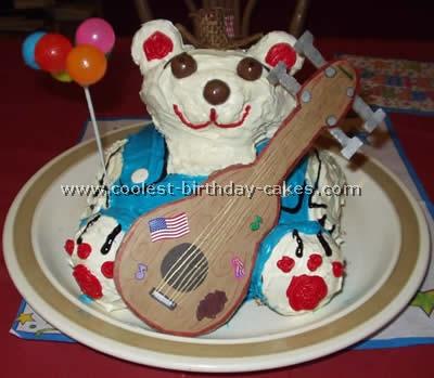 Teddy Bear Childrens Cakes
