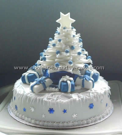 Christmas Cake Ideas.Coolest Tree Shaped Christmas Cakes And How To Tips