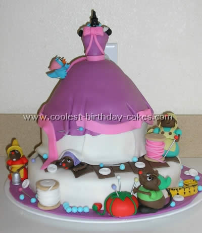 Coolest Cinderella Birthday Cake Photos