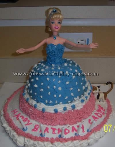 Cinderella Birthday Cakes