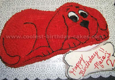 Awesome Coolest Clifford The Big Red Dog Cakes And How To Tips Personalised Birthday Cards Petedlily Jamesorg