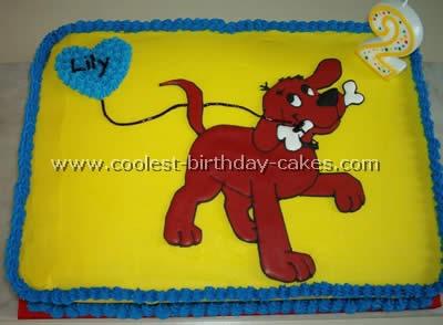 Clifford Cake Photo