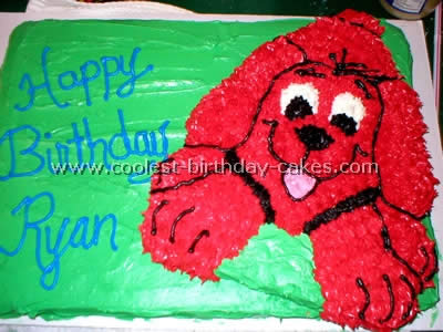Phenomenal Coolest Clifford The Big Red Dog Cakes And How To Tips Personalised Birthday Cards Petedlily Jamesorg