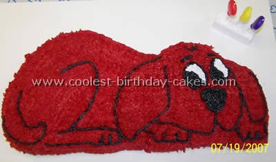 Incredible Coolest Clifford The Big Red Dog Cakes And How To Tips Personalised Birthday Cards Petedlily Jamesorg