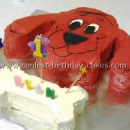 Coolest Clifford the Big Red Dog Cakes and How-To Tips