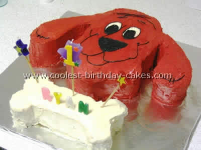 Outstanding Coolest Clifford The Big Red Dog Cakes And How To Tips Personalised Birthday Cards Petedlily Jamesorg