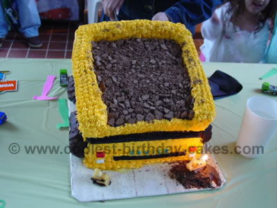 Amazing Coolest Homemade Construction Vehicles Cakes Funny Birthday Cards Online Eattedamsfinfo