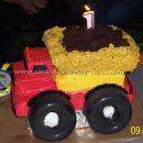 Construction Cake Photos - Web's Largest Homemade Birthday Cake Photo Gallery