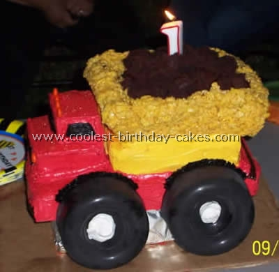 Construction Cake Photos - Web's Largest Homemade Birthday Cake Photo Gallery