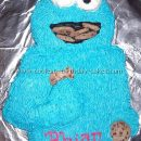 Coolest Cookie Monster Birthday Cake Photos and How-to Tips