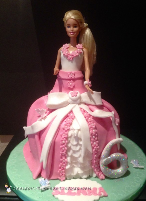 Astonishing 700 Coolest Homemade Doll And Barbie Cake Designs Birthday Cards Printable Riciscafe Filternl