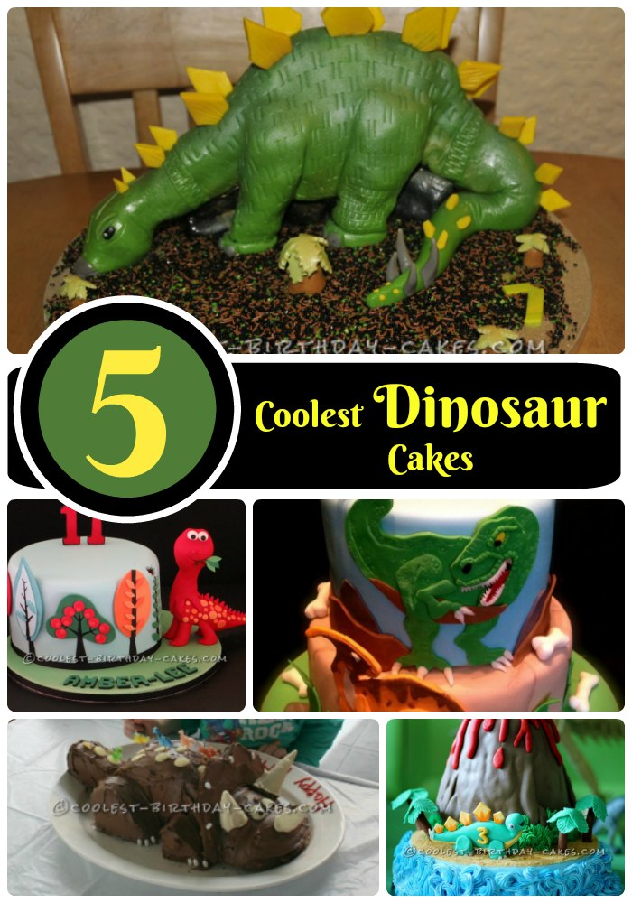 Astonishing 5 Dinosaur Cake Ideas Of Jurassic Proportions Funny Birthday Cards Online Alyptdamsfinfo