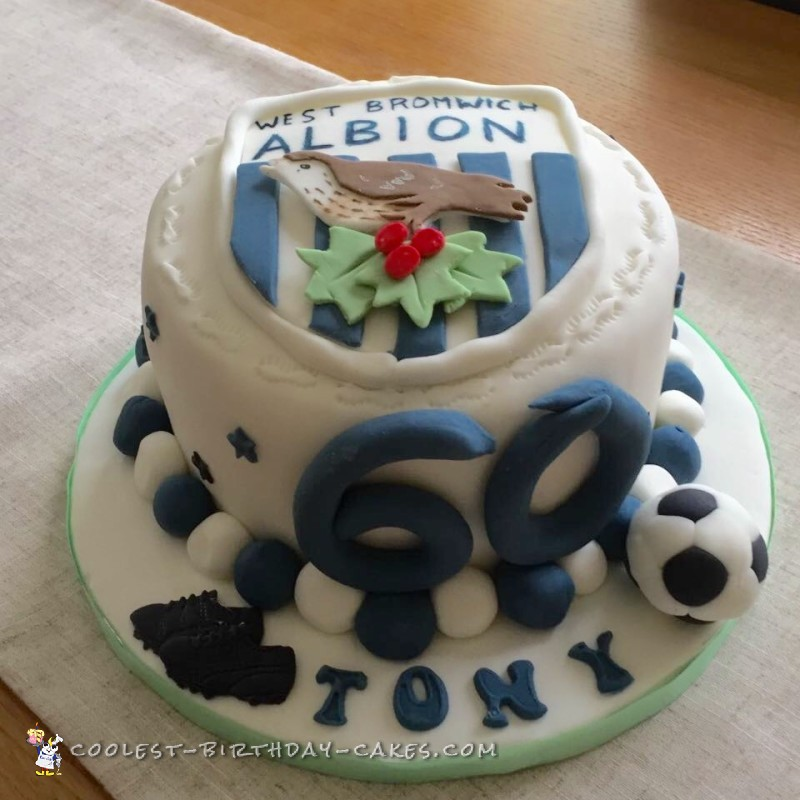 Coolest West Bromwich Albion Badge Cake