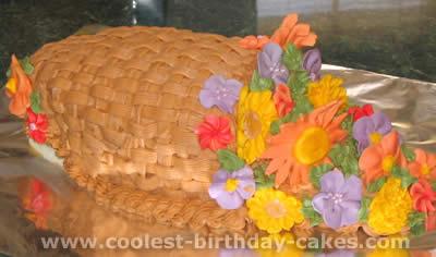 Cornucopia Cake Photo