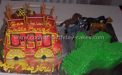 Excellent Coolest Cowboy Birthday Cake Ideas And Photos Funny Birthday Cards Online Inifodamsfinfo