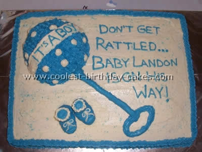 Creative Baby Shower Cakes Webs Largest Homemade Birthday Cake