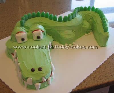 Coolest Crocodile Cake Photos Webs Largest Homemade Birthday Cake
