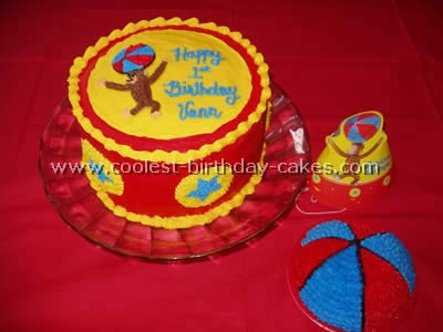 Amazing Coolest Curious George Cake Photos And Tips Funny Birthday Cards Online Sheoxdamsfinfo