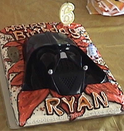 Prime Coolest Homemade Darth Vader Cakes Birthday Cards Printable Trancafe Filternl