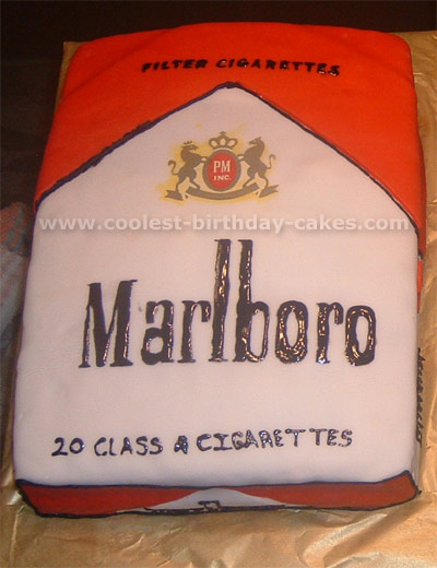 Coolest Smoking and No Smoking Cake Ideas and Photos