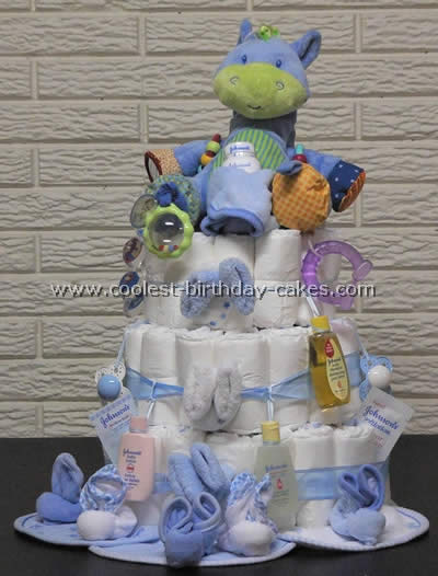 diaper cake instructions coolest cake directions and photos 3533