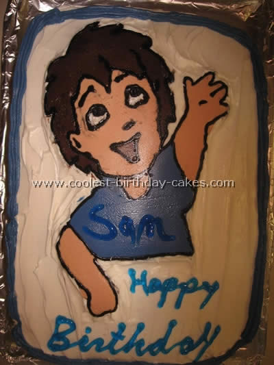 Coolest Diego Cake Ideas and Photos