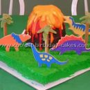 Coolest Dinosaur Birthday Cake Photos and How-To Tips