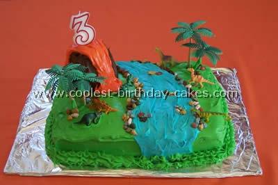 Coolest Dinosaur Cakes