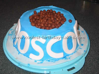 This Dog Bowl Cake Was Actually Pretty Easy To Make I Made It Three Layers And Then Tapered The Sides Look More Like A